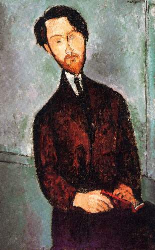 Modigliani - Portrait of Leopold Zborowski [3]